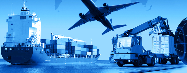Rollen und Räder Logistik